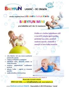 Leták-Babyfun MINI Lamač